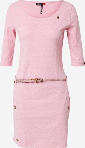 Ragwear Kleit 'TANYA', värv roosa