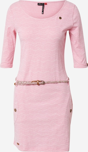 Ragwear Kleid 'TANYA' in pink / weiß, Produktansicht