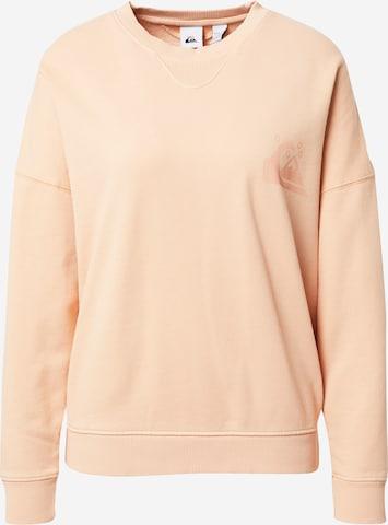 QUIKSILVER Collegepaita 'OVERSIZED CREW' värissä vaaleanpunainen
