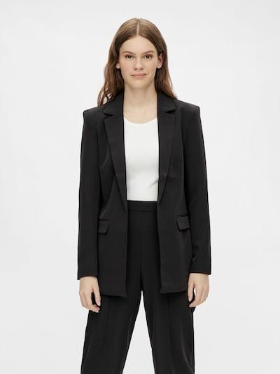 PIECES Blazer 'Bossy' in schwarz, Modelansicht
