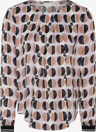 ETERNA Bluse in beige / schwarz / weiß, Produktansicht