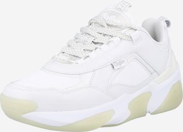Sneaker low 'Lean' de la BUFFALO pe alb