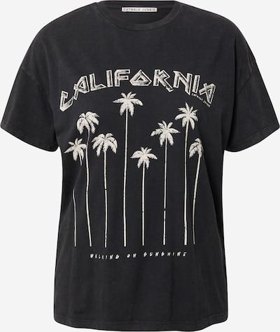 CATWALK JUNKIE Shirt 'CALIFORNIA' in anthrazit / weiß, Produktansicht
