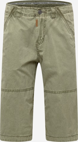 TOM TAILOR Shorts in Grün