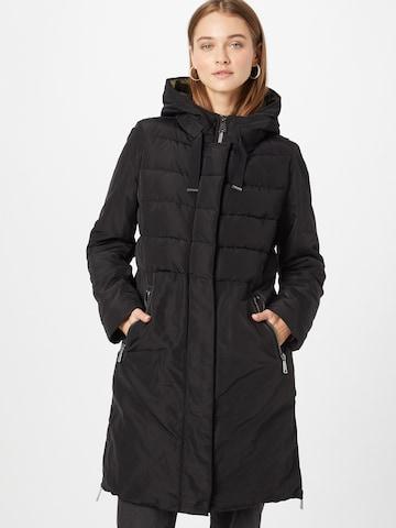 Amber & June Between-Seasons Coat in Black