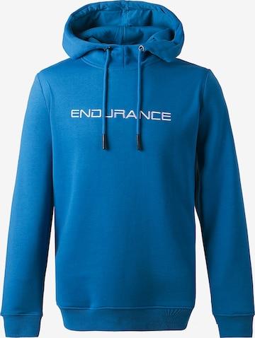 ENDURANCE Kapuzensweatshirt 'LIONK M' in Blau