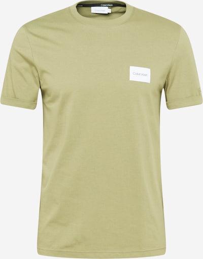 Calvin Klein Shirt in de kleur Lichtgroen, Productweergave