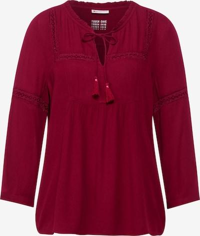 STREET ONE Bluse in rot / dunkelrot, Produktansicht