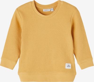 Bluză de molton 'Hardy' NAME IT pe galben miere, Vizualizare produs