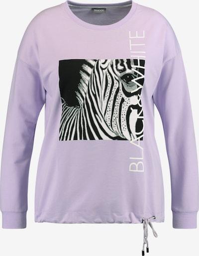 SAMOON Sweatshirt in helllila, Produktansicht