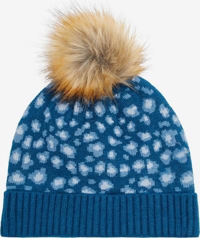 NAME IT Gepunktete Strick Mütze in blau, Produktansicht