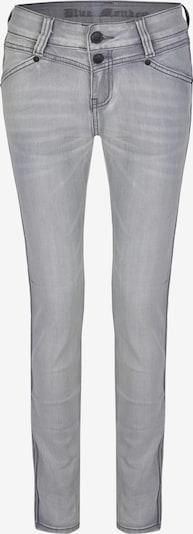 Blue Monkey Skinny Fit Jeans Sandy mit Gallonstreifen in grau, Produktansicht