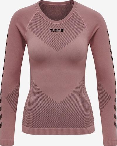 Hummel Funktionsshirt in rosé / schwarz, Produktansicht