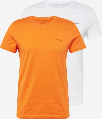 Calvin Klein Jeans Tričko - oranžová / černá / bílá, Produkt