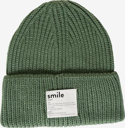 STREET ONE Mütze in grün / weiß, Produktansicht