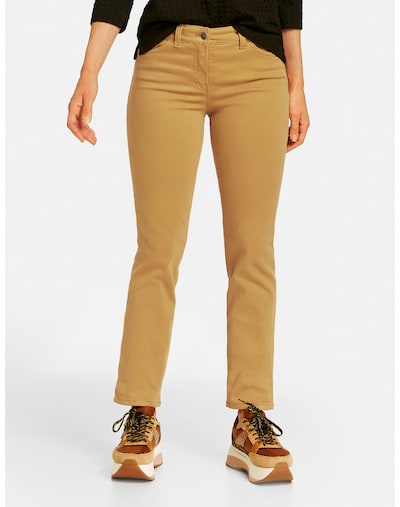 GERRY WEBER Jeans in senf, Modelansicht