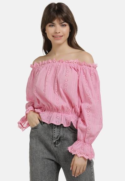 MYMO Blusenshirt in pink, Modelansicht