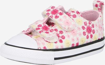 CONVERSE Sneaker 'CTAS' in gelb / pink / schwarz / weiß, Produktansicht