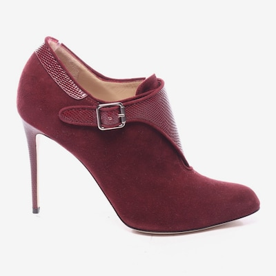 Paul Andrew Ankle Pumps in 39 in weinrot, Produktansicht