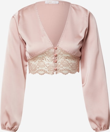 Femme Luxe Blus 'BECKY' i rosa
