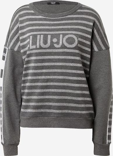 LIU JO JEANS Sudadera 'Felpa Chiusa' en gris / gris claro, Vista del producto