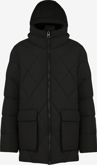 Finn Flare Winterjas in de kleur Zwart, Productweergave