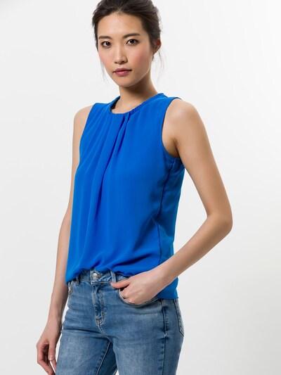 zero Blusentop in kobaltblau, Modelansicht