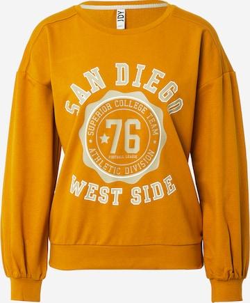 JDY Sweatshirt 'BRITT' in Brown