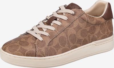 COACH Sneaker in hellbeige / braun, Produktansicht