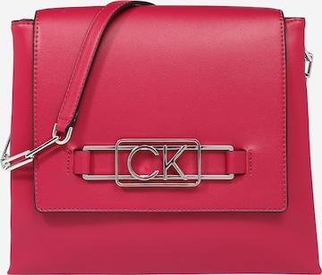Sac bandoulière Calvin Klein en rose