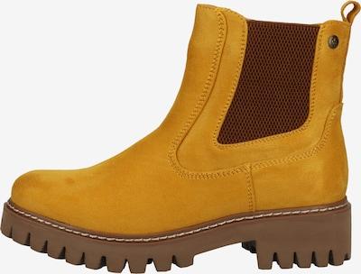 RIEKER Chelsea Boots in braun / gelb, Produktansicht