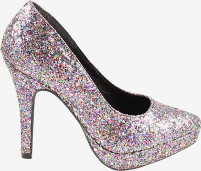H&M High Heels in 37 in lila / rot / silber, Produktansicht
