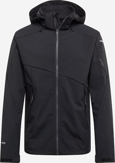 Giacca per outdoor 'BARLING' ICEPEAK di colore grigio chiaro / nero, Visualizzazione prodotti