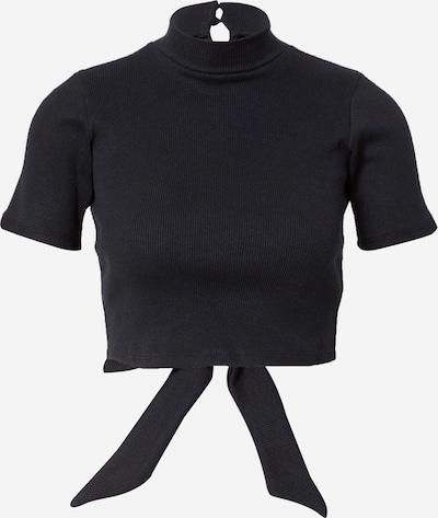 Motel Shirt 'Que' in schwarz, Produktansicht