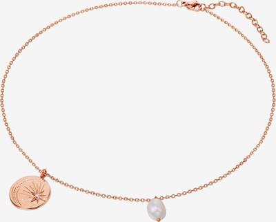Valero Pearls Edelstahl-Kette in rosegold, Produktansicht