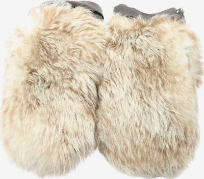 HUGO BOSS Gloves in XS-XL in Cream / Brown, Item view