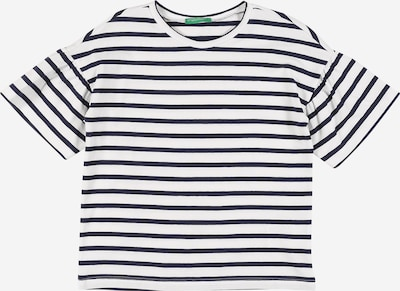 UNITED COLORS OF BENETTON Shirt in navy / weiß, Produktansicht