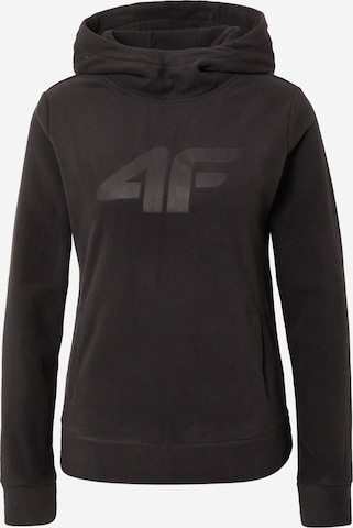4F Athletic Sweater in Black