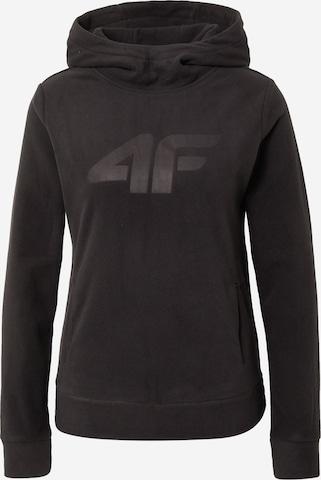 4F - Jersey deportivo en negro