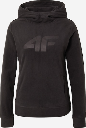 4F Athletic Sweater in Black, Item view