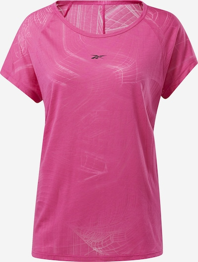 REEBOK T-Shirt 'Burnout' in dunkelpink, Produktansicht