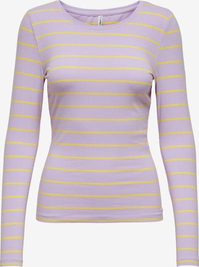 ONLY Majica 'Fifi' | rumena / lila barva, Prikaz izdelka