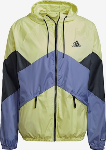 ADIDAS PERFORMANCE Jacke 'Back to Sport' in Gelb