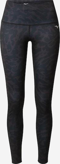 MIZUNO Sporthose in schlammfarben / schwarz, Produktansicht
