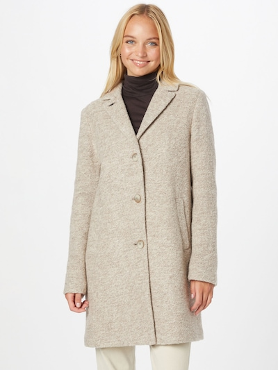 CINQUE Between-Seasons Coat 'CIMIRACLE' in Beige, View model