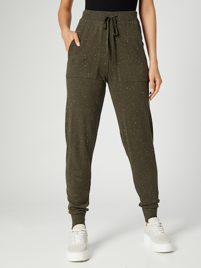 Guido Maria Kretschmer Collection Pants 'Jenny' in Khaki, View model