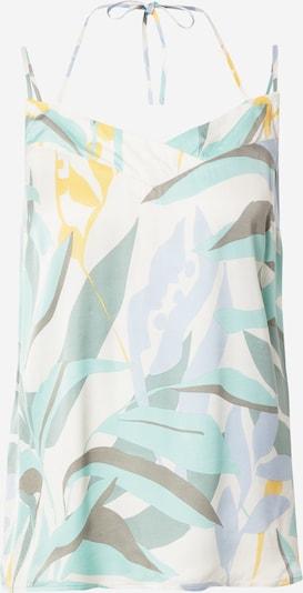 Bluză s.Oliver pe bej / turcoaz / verde, Vizualizare produs