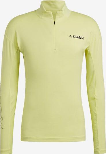 adidas Terrex Funktionsshirt in gelb, Produktansicht