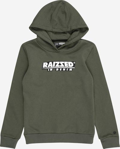 Raizzed Sweatshirt 'NEWTON' in khaki / schwarz / weiß, Produktansicht