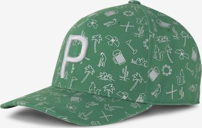 zöld / fehér PUMA Sport sapkák 'Desert P 110', Termék nézet